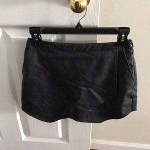Abercrombie nwot faux leather shorts